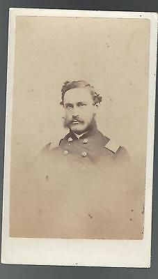 Civil War CDV Union Colonel Francis Augustus Osborn 24th Mass Vols