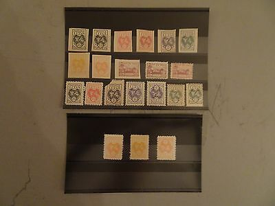 Selection of Lithuania Earlier Mint Issues on 2 x Stock Cards - Useful ?
