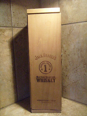 Jack Daniels Wood Barrel, Old Time Tennessee Whiskey, Wooden Storage Box