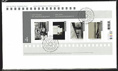 2016 SC# 2902-03 FDC Canadian Photograpy-4 Set of Two