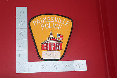 Shoulder patch from Painsville Police Department Ohio