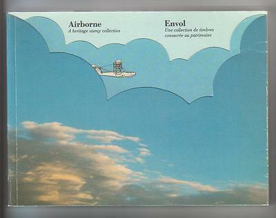 1983 Canada Airborne Collection Book Complete with all Stamps