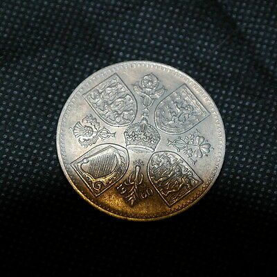 Lovely Old Five Shilling Coin