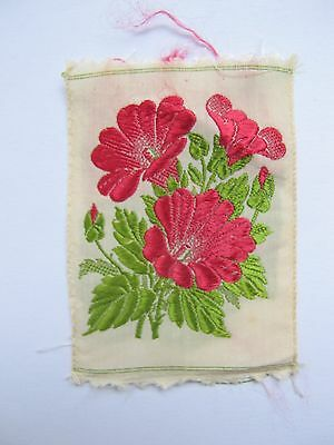 Kensitas Wix Silk Flowers -  MALLOW No 37 in Series 2 1934 Med coverless