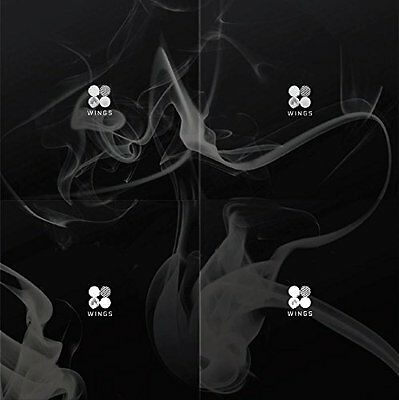 BTS - WINGS (Vol.2) [I ver.] CD with Folded Poster Extra Gift Photocard Set