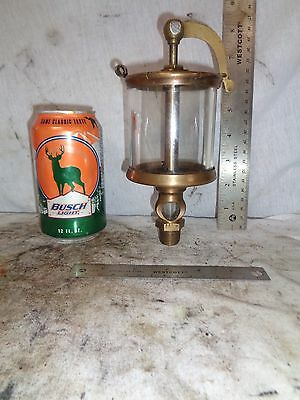 #5 Lunkenheimer Crown Swing top oiler hit miss old engine steam steampunk