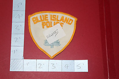 Shoulder Patch from Blue Island Police Department Illinois
