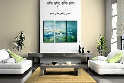 Clean Water Wall Art Painting Pictures Print On Canvas Botanical The Picture...