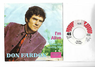 "DON FARDON I'm alive top MOD Freakbeat Soul 7"" -  More great 45s in my shop !"