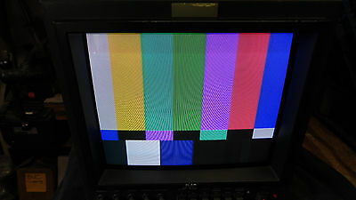 "JVC 9"" CRT Color Video Monitor (TM-R9U)           