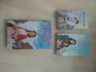 3 x Books by Lyn Andrews, Lynda Page & Anna Jacobs