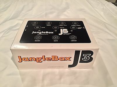 Janglebox JB3 True Bypass Electric Guitar Compressor Effect Pedal
