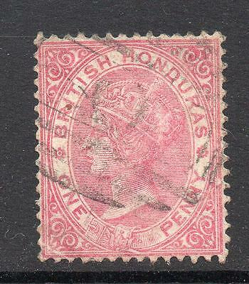 British Honduras 1 Penny Stamp c1882-87 Used SG18
