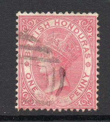 British Honduras 1 Penny Stamp c1882-87 Used SG19