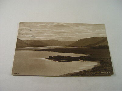 TOP12469 - Postcard - St Mary's Loch from North East 1931
