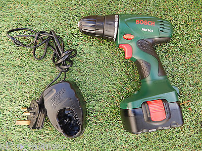Excellent Bosch PSR 14.4v Cordless Drill, Battery & Charger