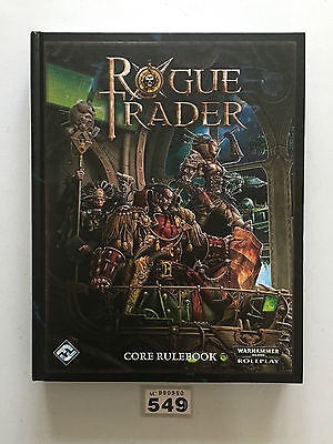 Rogue Trader Core Rulebook Oop Warhammer 40,000 Role Playing Games Workshop