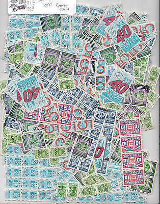 Selection of 1000 Retail Stamps Green Shield, CoOp, Pink, Peerless