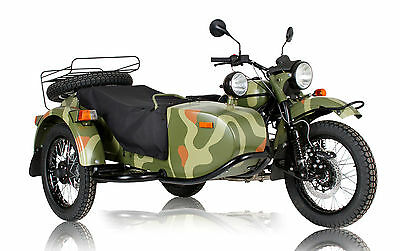 2016 Ural Gear Up  2WD SIDECAR MOTORCYCLE /// FREE SHIPPING IN THE 48 CONTIGUOUS U.S. STATES!!