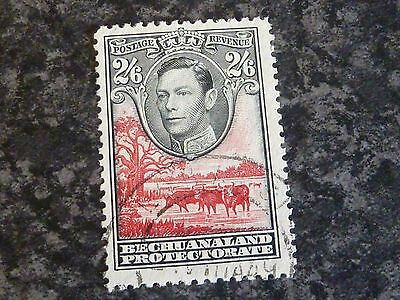 Bechuanaland Protectorate Postage Revenue Stamp Sg126 2/6D Fine Used