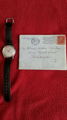 John Wanamaker Collectable Artifacts - Rare Signed Letter 1926 And Watch