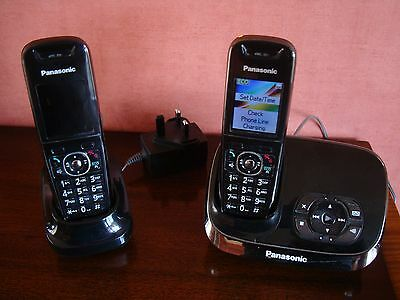 Panasonic Twin Handset Cordless Phone with Answerphone