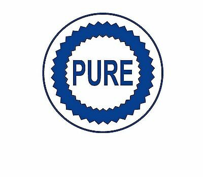 PURE Die-Cut Vinyl Decal Old Hot Rod Sticker Reproductions