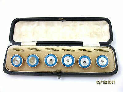 AntIque   BOXED SET OF 6 BUTTONS