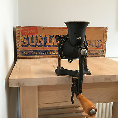 SPONG No.1 COFFEE MILL GRINDER CAST IRON
