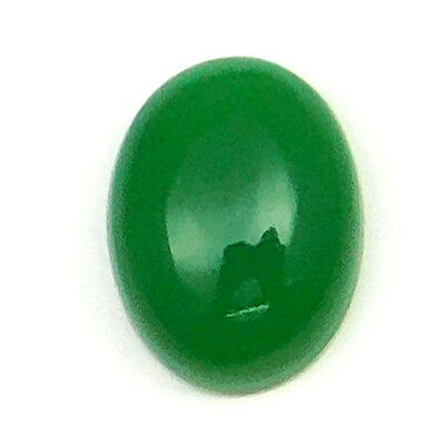 9.30 cts Natural Treated Cryso Chalcedony Gemstone Oval Shape Loose Cabochon