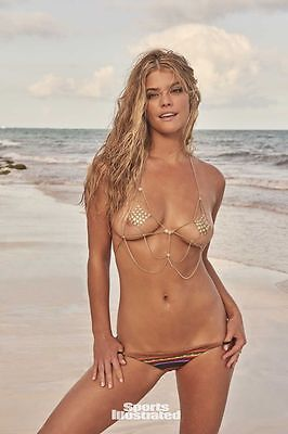 NINA AGDAL SI Swimsuit Model Sports Illustrated BC01 [Multiple Sizes]