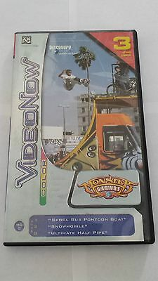 VideoNow Monster Garage PVD 3 Disc Pack 2004 Discovery Channel TV-PG