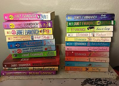Lot 21 Janet Evanovich Books Stephanie Plum Wicked Appetite Romaces