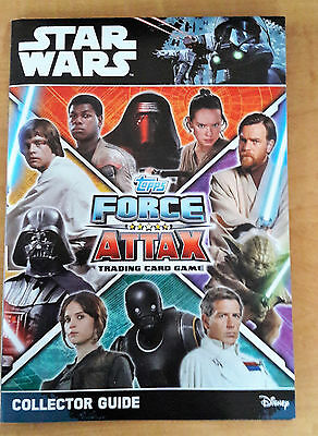 2017 Wars Force Attax Universe Topps complete set 272 cards + binder