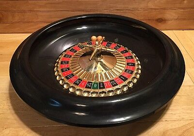 """Casino Roulette Wheel 16"""" Table Game"""