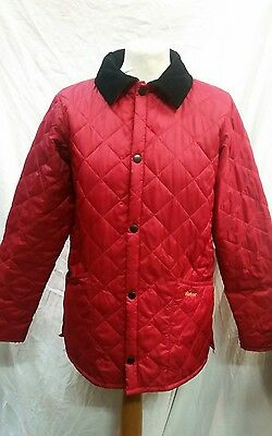Girls Barbour Liddesdale Quilted Jacket Size Large Approx