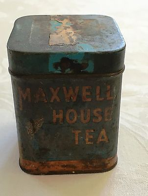 Vintage Maxwell House Tea Tin