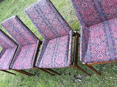 4X Vintage/retro Dining Chairs Upholstery Project