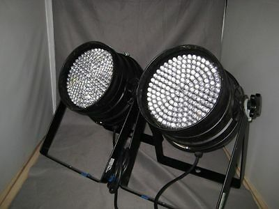 2 x DMX LED Par Can with RGB Colour mixing – USED