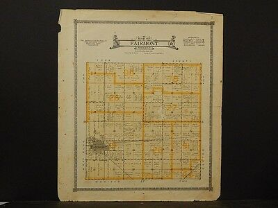 Nebraska, Fillmore County Map, Fairmont Township 1918  K6#91