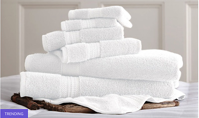 New 100% Egyptian Cotton Towel Set (6-Piece) 700 GSM, Extra Soft High Absorbant