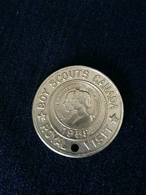 1959 Boy Scouts Of Canada Royal Visit Good Turn Medal