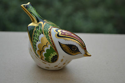 """Royal Crown Derby Paperweight """"FIRECREST""""    1st Quality & Original Box"""