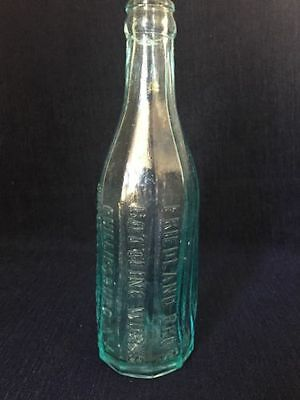 Friedland Bros. Bottling Works Phillipsburg N.Y. 10 Panel Bottle