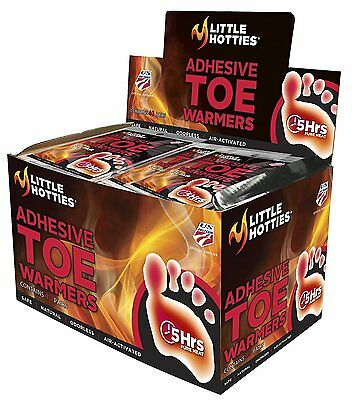 NEW - Little Hotties Adhesive Toe Warmer pack 10 - FREE SHIPPING