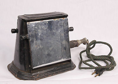 Antique 1930's-1940's Two Sided Flip Open Toaster UInbranded GOOD