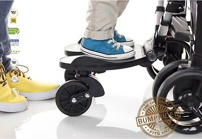 Bumprider Black One 4 All Childs Ride On Universal Buggy Stroller Board