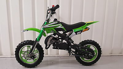 Mini Dirt Bike 50cc Rev and go sports exhaust 2017 design Free Delivery