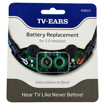 TV EARS Battery for TV EARS 5.0 Digital and Analogue Headphones Headset