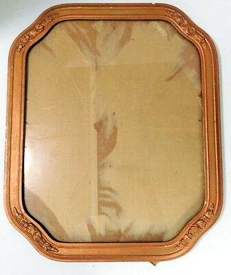 Vintage Ornate Wood Picture/mirror Frame 17 X15